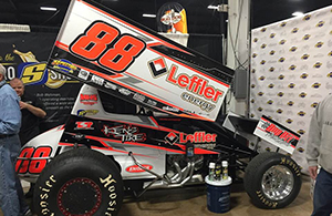 Brandon Rahmer's Leffler sponsored car!