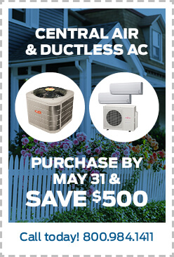 Leffler Central Air and Ductless Coupon save $500