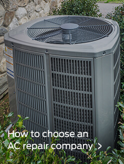 How to choose an AC repair company
